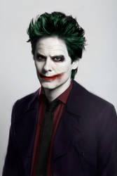 Jared Leto as The Joker by Zalkel000