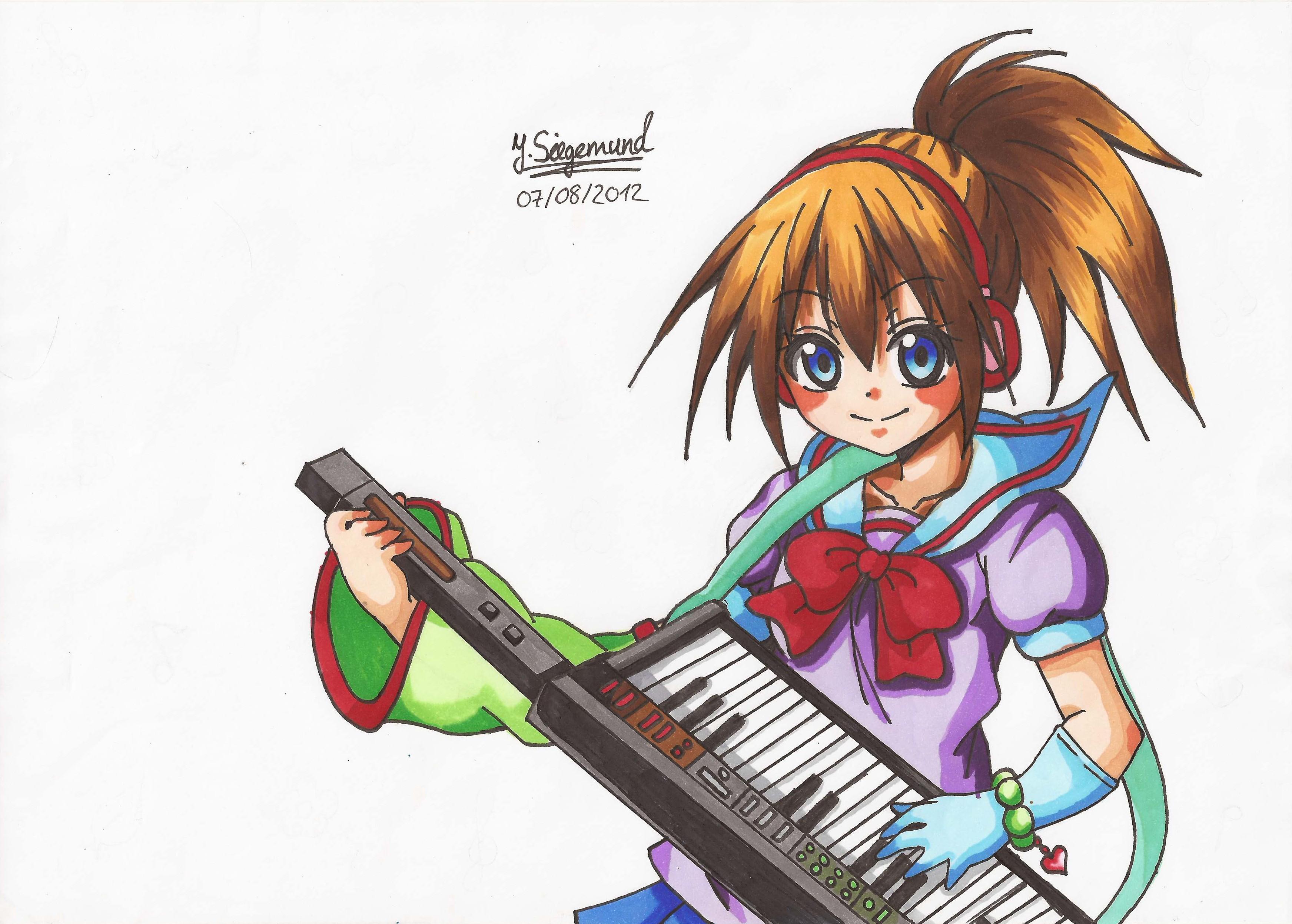 Manga Rock Girl by Jas...