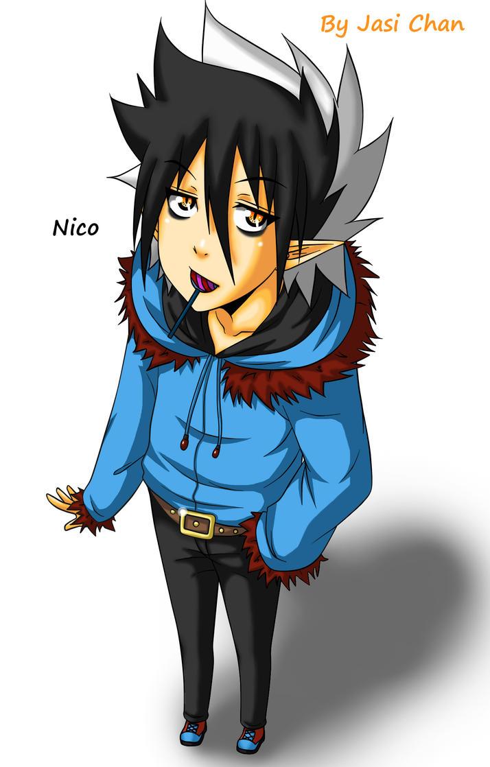New OC Nico by JasiChan17