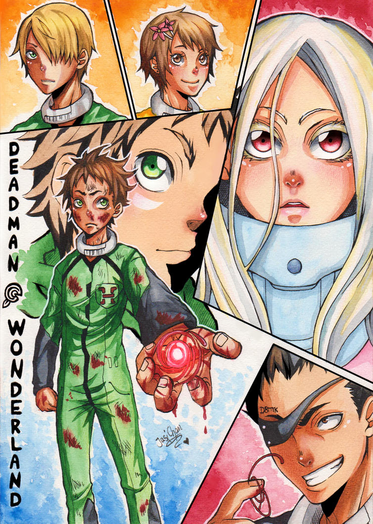 Deadman Wonderland by JasiChan17