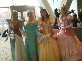 nintendo princess-otakon 2011 by carblecca