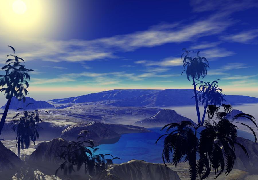 Desert Oasis by auraming96