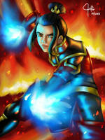Azula of The Fire Nation by PoSABELLities