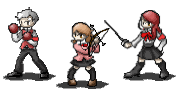Persona 3 sprites: series 1 by CoLdFiRe-AnGeL