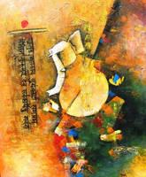 Ganesha painting by vishalmisra