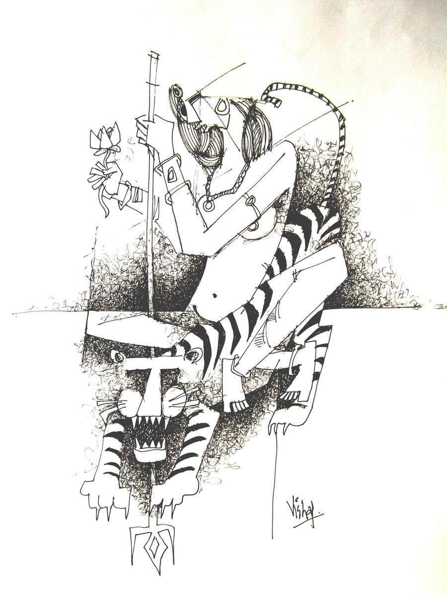 Durga .... by vishalmisra