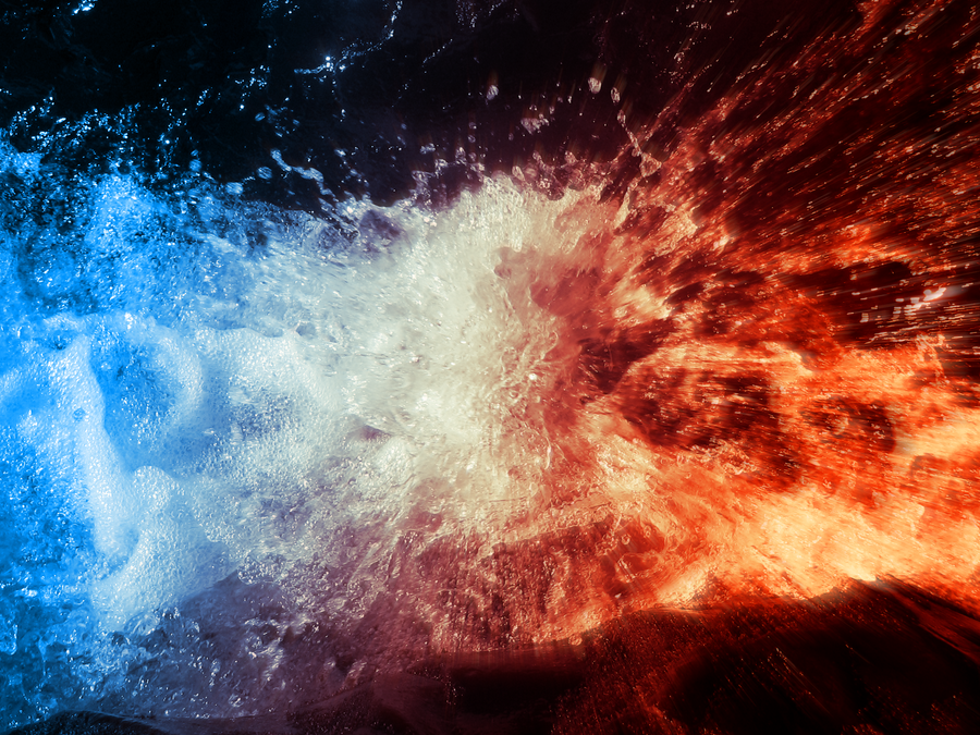 Fire And Water By Ubuntu-user333 On DeviantArt