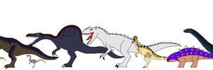 JP Animated Dinosaurs by Syfyman2XXX