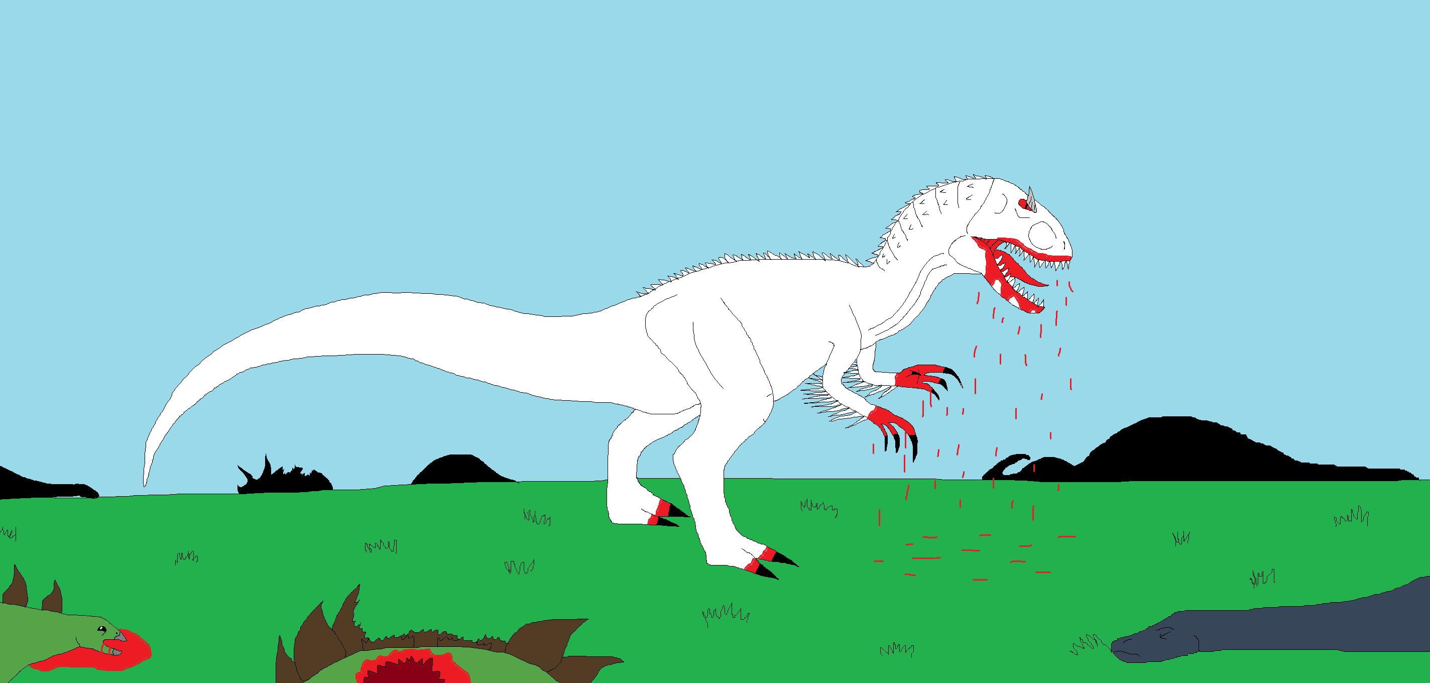 Hybrid Indominus Rex by Syfyman2XXX on DeviantArt