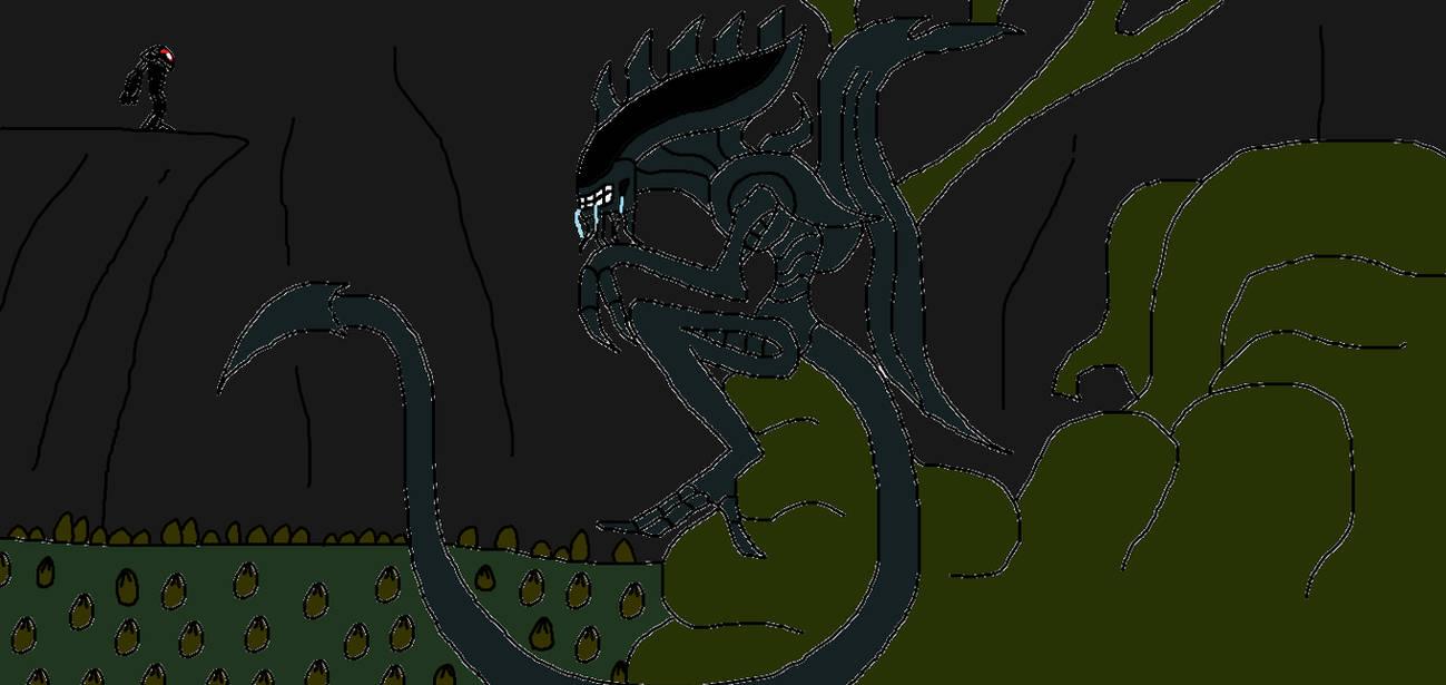 GDD Xenomorph Queen Mother by Syfyman2XXX on DeviantArt