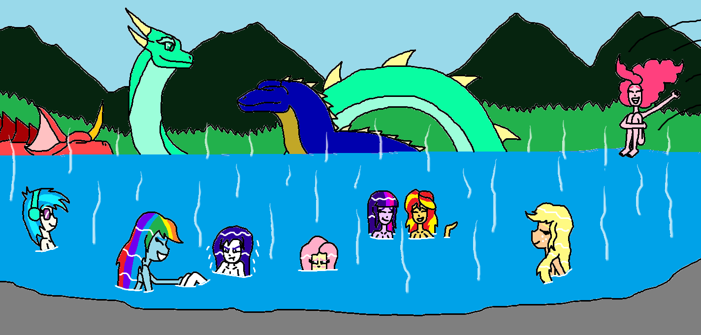 Islands of Monsters Equestria Girls by Syfyman2XXX on