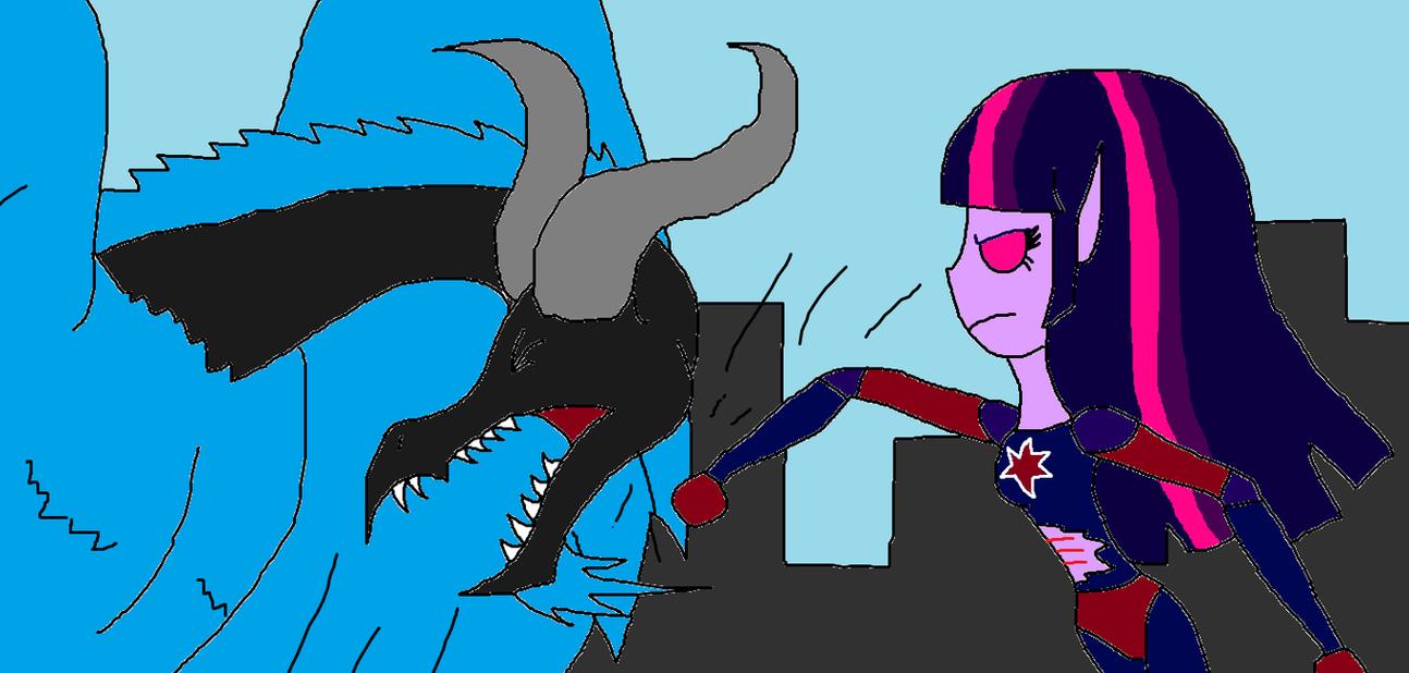 Astro-Spark vs Grogar by Sci-fiman2xxx