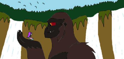 EG Kaiju Kong and Sunny Flare by Syfyman2XXX