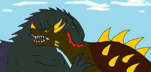 World of Titans Chapter 2 Lucky Dragon vs Behemoth by Syfyman2XXX