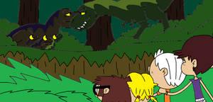 Jurassic Loud Family of Rexes