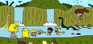 Jurassic Loud Paradise Falls