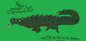 Amphibia Bestiary Crocodile