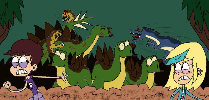 Jurassic Loud Stegosaur Stampede