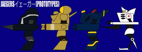 Walking with Giants Jaeger Prototypes