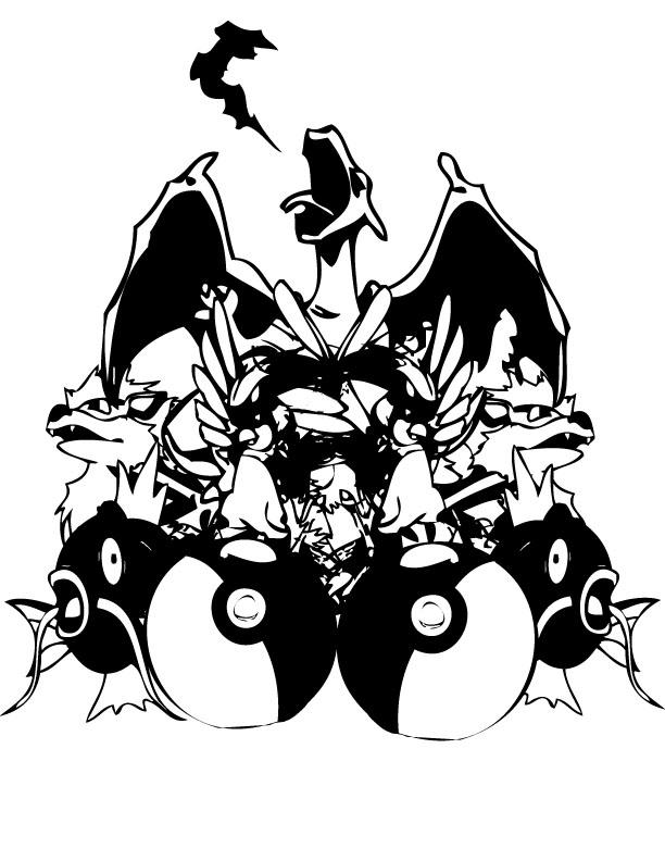 Pokemon by InquisitorTylarius