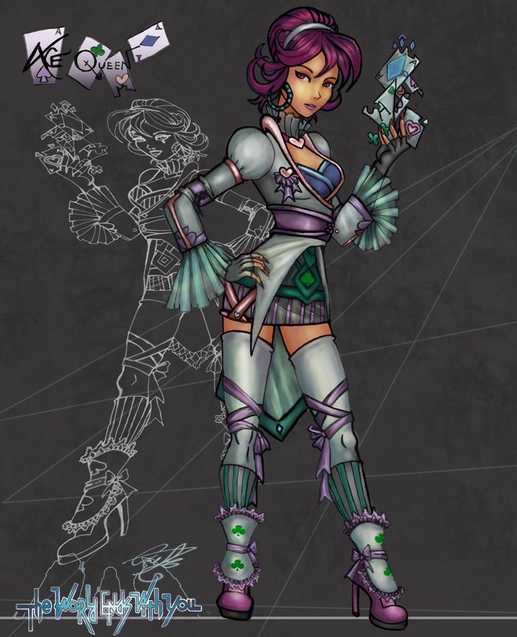 Hero-AceQueenEMMA by axelalonso