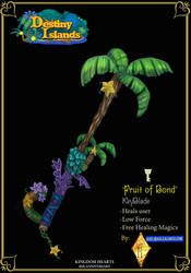 KeyBlade Fruit of Bond by axelalonso