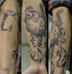 Octopus Tattoo.