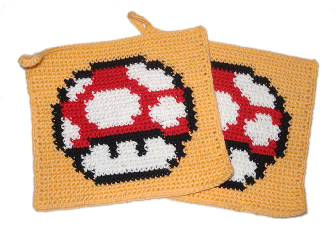 SuperMario Potholder / Topflappen by TheOnlyRealRoxy on DeviantArt | {Topflappen 20}