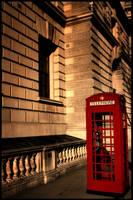 London Telephone Box by themoviejerk7