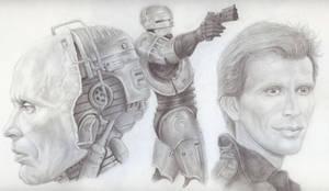 RoboCop Sketch by JonMckenzie