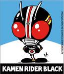 Kamen Rider Black Sticker