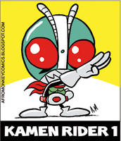 Kamen Rider 1 Sticker by PacoAfroMonkey