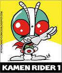 Kamen Rider 1 Sticker