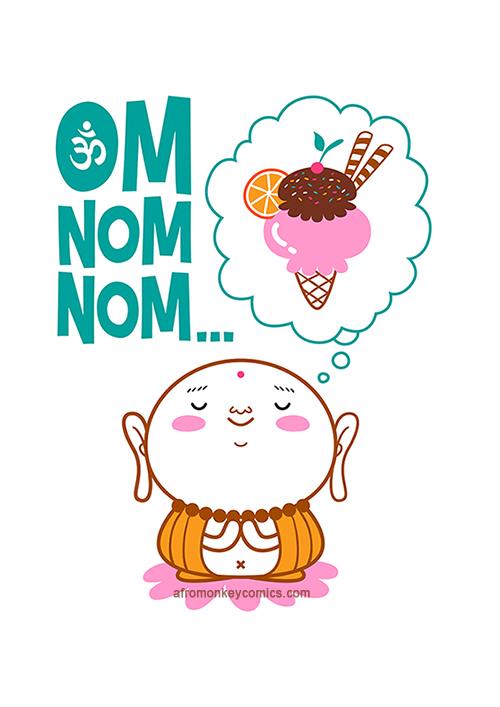 Om Nom Nom by PacoAfroMonkey