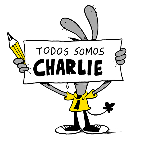 Charlie Hebdo by PacoAfroMonkey