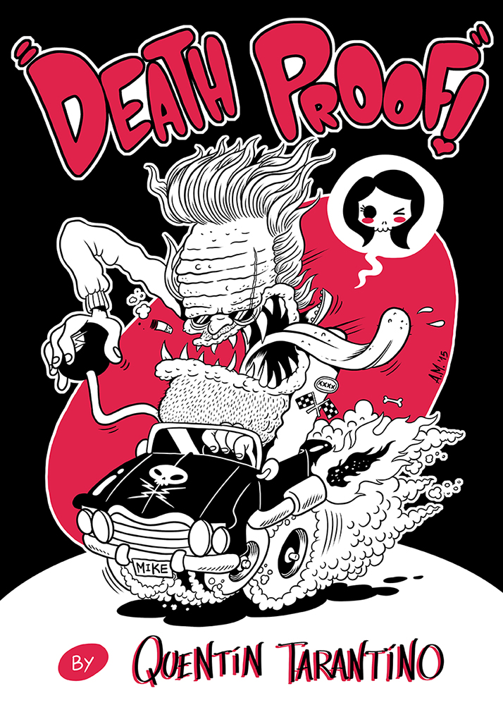Death Proof by PacoAfroMonkey