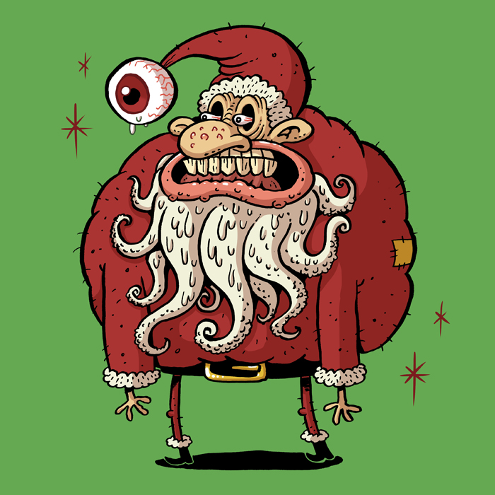 Santa Claus by PacoAfroMonkey