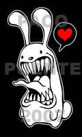 bunny luv by PacoAfroMonkey