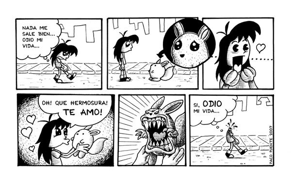 Random Comic by PacoAfroMonkey