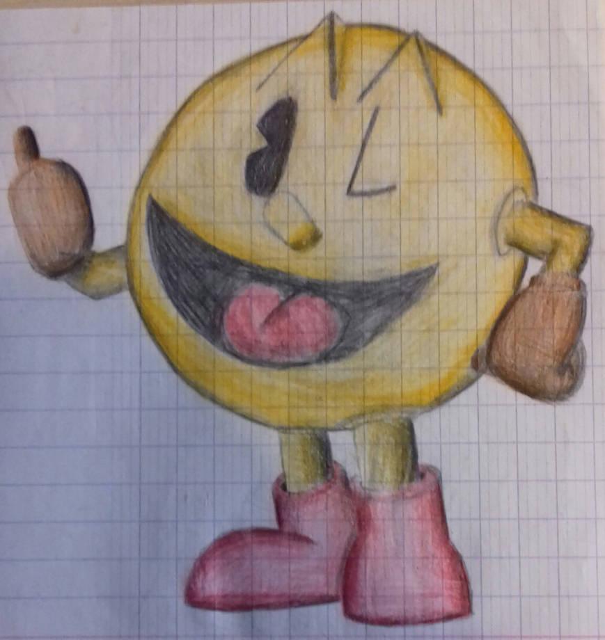 Pac-man by DrBlagueur