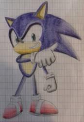 Sonic by DrBlagueur