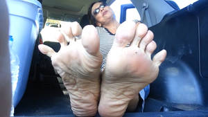 Old Woman Sexy Mature Soles Pov Tease