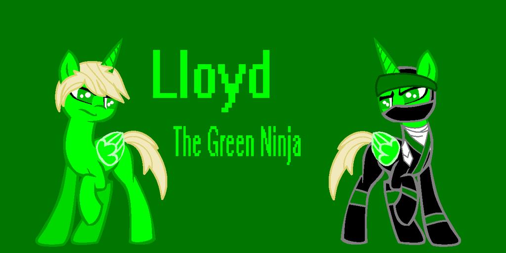 MLP The Lego Ninjago Movie Lloyd by Ced145 on DeviantArt