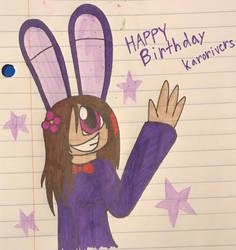 Happy birthday Karorivers