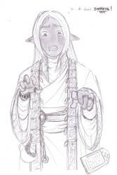 Mu-nai, scarred for life. by sirscalf