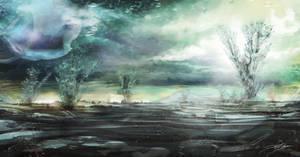 Boreal Planetscape by A-Little-TikTokZin