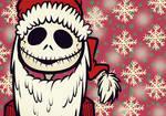 Jack Skellington  At Christmas Wallpaper