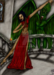 Dancer with Demon Rising
