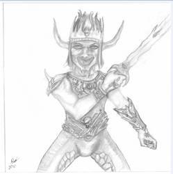 Demon Knight Sketch