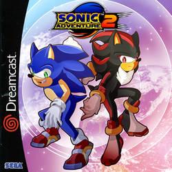 Sonic Adventure 2 Box Art Redraw